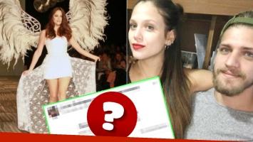 El gesto 2.0 del novio de Barbie Vélez que despertó las sospechas: ¿se casaron? (Fotos: Web y Captura)