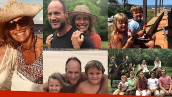 Las postales más tiernas de las vacaciones familiares de Maru Botana