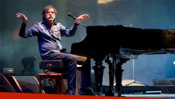 Charly García dijo presente en el festival uruguayo Medio y Medio