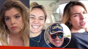 La irónica frase de Dalma Maradona tras el video con Diego y Rocío Oliva: ¿De qué murió? ¡De sacar conclusiones...