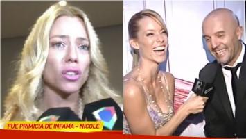 Nicole Neumann habló en Infama sobre el rumor de romance con el Pelado López: Tengo muy buena onda desde hace mucho