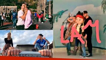 Las divertidas vacaciones de Marcelo Tinelli, junto a sus hijos menores en Disney