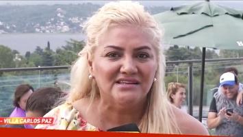El doloroso recuerdo de Gladys La Bomba Tucumana a su papá (Foto: Captura)