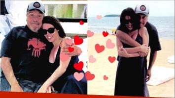 Coco Sily presentó a su novia tras 3 meses de relación (Fotos: revista Paparazzi)