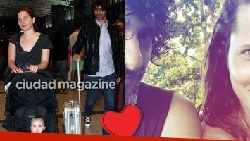 Agustina Kämpfer y su primera postal romántica con su nuevo novio desde Brasil