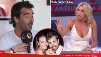 Nacho Viale se refirió en LAM a sus planes de casamiento con Lucía Pedraza: Quiero la fiesta, el resto no me...