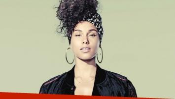 Alicia Keys celebró su cumpleaños previo a los premios Grammy (Foto: Web)