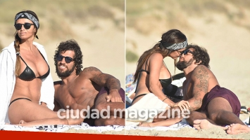 Paz Cornú, súper apasionada con su nuevo novio en Punta del Este (Fotos: GM Press)