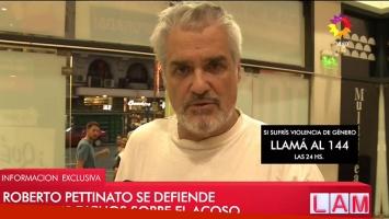 Habló Roberto Pettinato tras su polémica declaración sobre el acoso sexual: Las feministas están muy bien, no la...