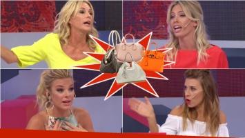 Las marcas truchas de carteras dividieron a las panelistas de LAM: mirá su picante discusión