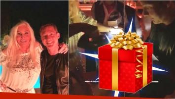 El particularísimo regalo de Adrián Suar para el cumpleaños de Susana... ¡una caja de herramientas!
