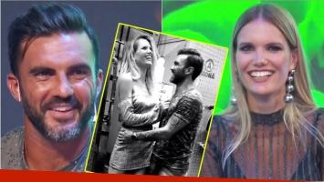 La reacción de Fabián Cubero cuando le preguntaron si salía con Eva Bargiela (Fotos: Captura)