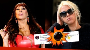 El lapidario tweet de Moria Casán contra Wanda Nara