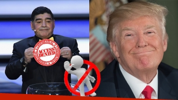 Estados Unidos le denegó la visa a Diego Maradona