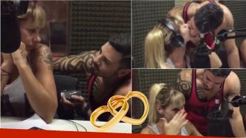 Mónica Farro recibió la propuesta de casamiento en vivo de su novio: el momento