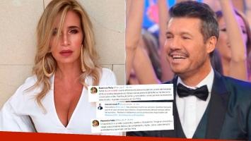 Los desopilantes tweets de Flor Peña a Tinelli, postulándose para el jurado de Bailando 2018: la respuesta de Marcelo...