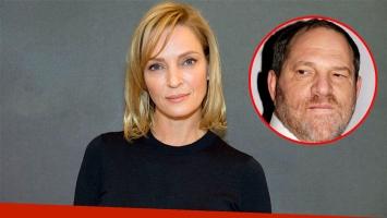 Uma Thurman reveló cómo fueron las situaciones de acoso que vivió con Harvey Weinstein: Se me abalanzó haciendo...