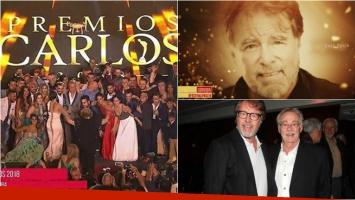 El papelón de los Premios Carlos 2018 con Salo y Mario Pasik