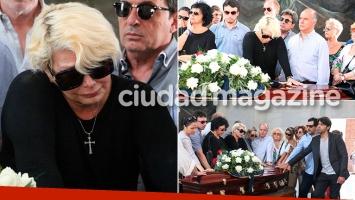 El doloroso último adiós de Carmen Barbieri a su madre, Ana Caputo