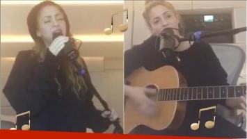 Shakira volvió a cantar tras su lesión en las cuerdas vocales (Fotos: Capturas de videos de Instagram)