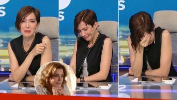 El llanto de Cristina Perez por la muerte de Débora Pérez Volpin