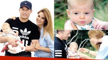 Jésica Cirio y una autocrítica con la crianza de su hija Chloé (Fotos: revista Caras)