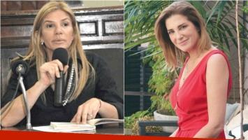 Mariana Lestelle y el error en el que se pudo haber incurrido en el tratamiento de Débora Pérez Volpin (Fotos: Web)
