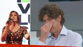 El desgarrador llanto de Martín Lousteau al recordar a Débora Pérez Volpin