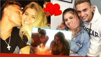 El festejo de cumpleaños de Morena Rial con su novio, Facundo Ambrosioni (Fotos: Instagram e Instagram Stories)