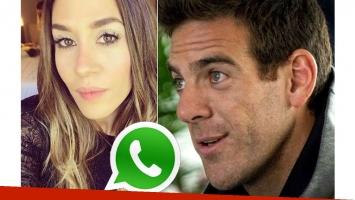 Jimena Barón y Juan Martín Del Potro, separados: el detalle en WhatsApp que delató su crisis
