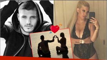 El romántico mensaje de Mauro Icardi a Wanda Nara para San Valentín (Fotos: Instagram)