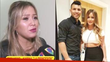 La Princesita Karina negó los rumores de reconciliación con el Kun Agüero (Fotos: Captura y Web)