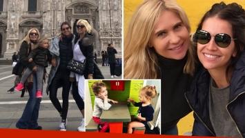Zaira Nara, Malaika y su mamá se fueron de vacaciones a Italia para ver a Wanda: ¡mirá las fotos!