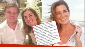 La conmovedora carta de Quique Sacco tras el último adiós a Débora Pérez Volpin (Fotos: Instagram)