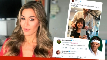 El pícaro tweet de Jimena Barón tras separarse de Del Potro