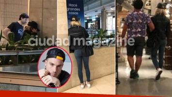 De Brito reveló las fotos de Laurita Fernández llorando en un shopping... ¿hablando con Fede Bal?