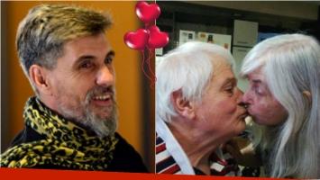 El Chato Prada y la tierna foto de sus papás besándose por San Valentín