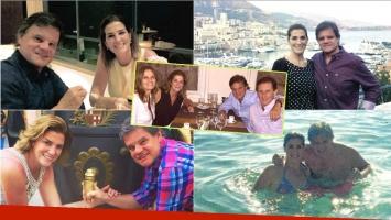 Quique Sacco contó en primera persona cómo se fue su historia de amor con Débora Pérez Volpin (Fotos: Instagram)