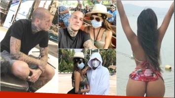 El álbum del exótico viaje de Alex y Charlotte Caniggia en Tailandia (Fotos: Instagram)