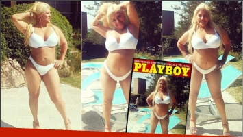 Gladys La Bomba Tucumana posó sexy en bikini y se postuló para la revista Playboy (Fotos: Instagram)