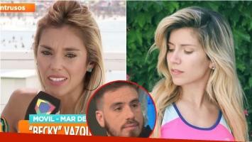 Becky Vázquez contó el consejo que le dio Laurita Fernández: Me dijo 'no sé si ya estás enamorada de él, pero...