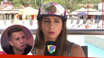Cinthia Fernández le respondió a Matías Defederico