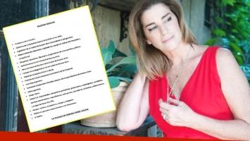 El comunicado de agradecimiento de la familia de Débora Pérez Volpin, a dos semanas de su fallecimiento (Foto: Web)
