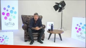 Marcelo Tinelli lanzó su nuevo productora (Foto: Captura de Facebook Live)