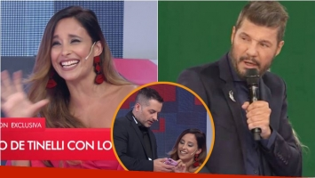 Lourdes Sánchez le robo la lista de famosos del Chato Prada para Bailando 2018... ¡y Tinelli salió al cruce!