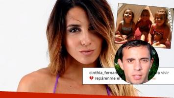 El nostálgico mensaje de Cinthia Fernández tras la separación de Matías Defederico: Repárenme el alma