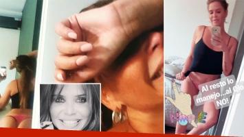 Nazarena Vélez, muy irónica y autocrítica con su lomazo. (Foto: Instagram)