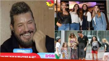Tinelli en El Diario de Mariana: Amo mucho a mis hijos del corazón, Dante, Paloma y Helena
