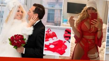 El look súper sexy que Vicky Xipolitakis usó en noche de bodas con Javier Naselli