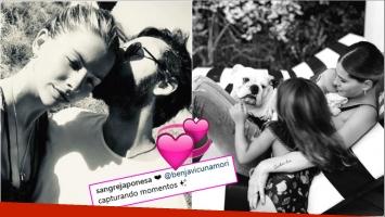 La dulce foto de la China Suárez con sus hijas y su perro (Fotos: Instagram)